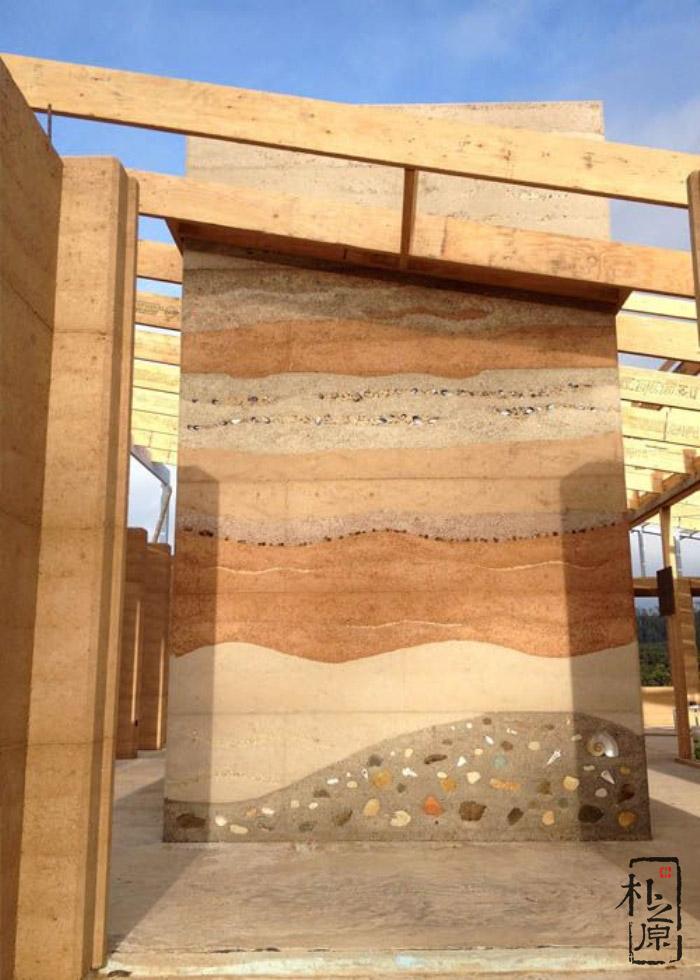 现代夯土墙施工工艺