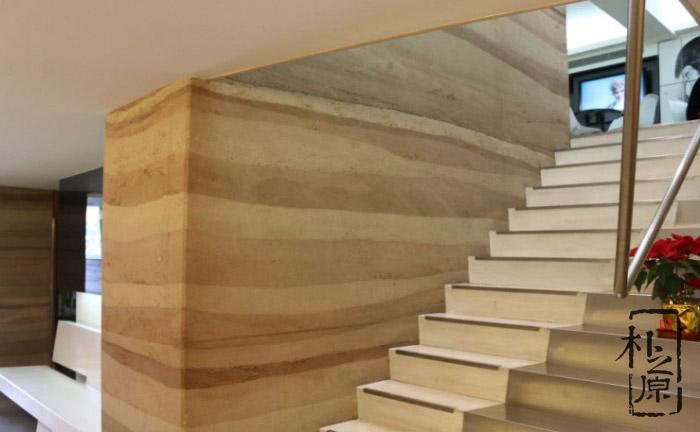 现代夯土墙配方的改性材料配比