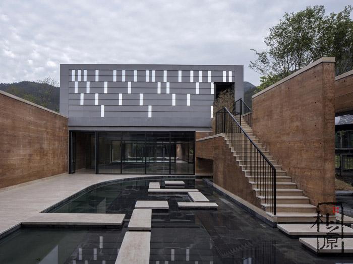 夯土墙现代建筑