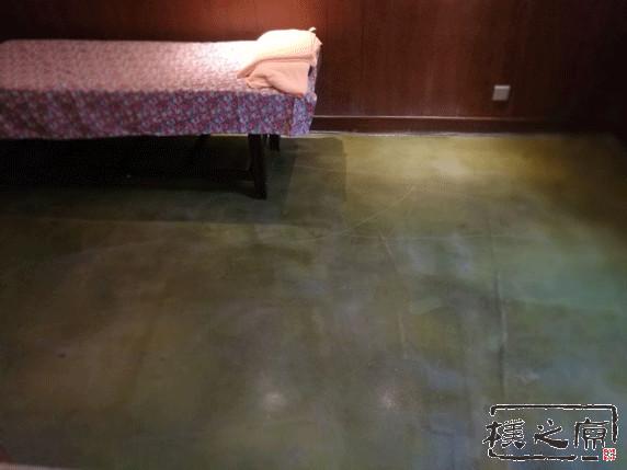 清水混凝土地面装饰