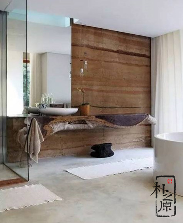 夯土墙设计的现代转向