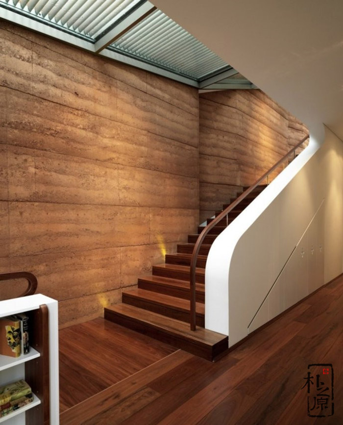现代夯土墙设计