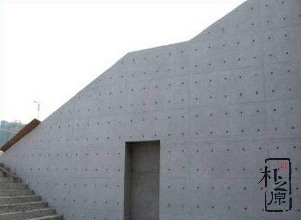 清水混凝土面板