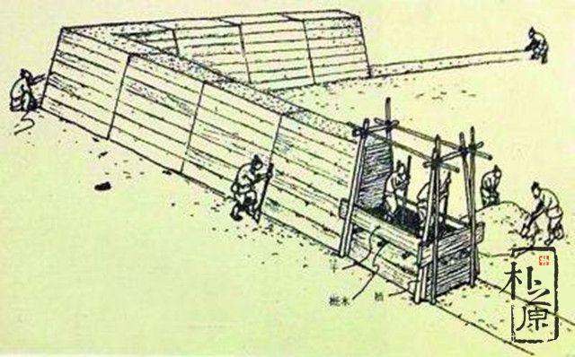 夯土墙施工