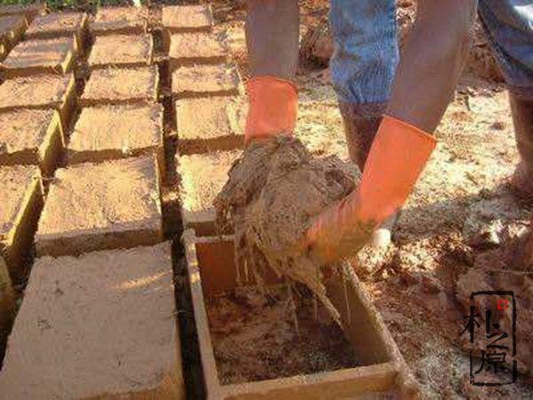 土坯砖制作