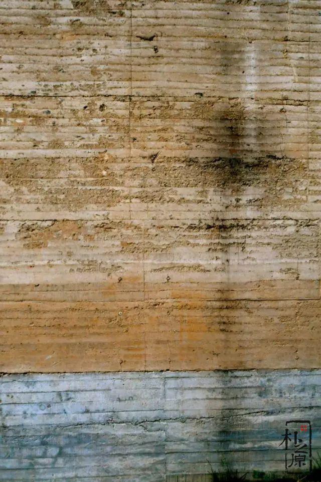 夯土墙表皮