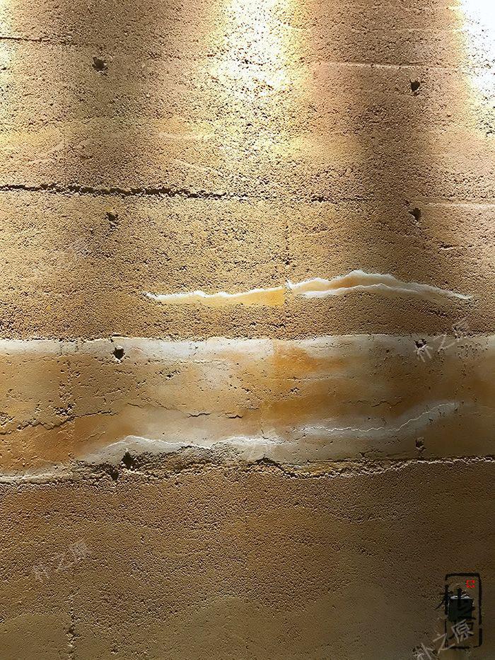 朴之原彩色夯土墙