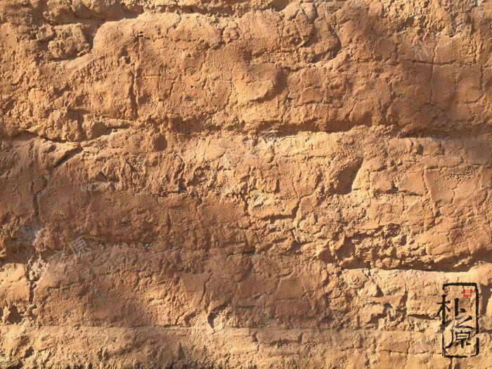 原生态夯土墙