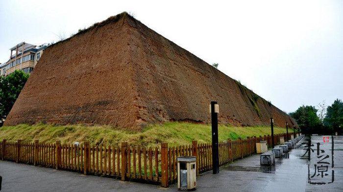郑州夯土墙城墙