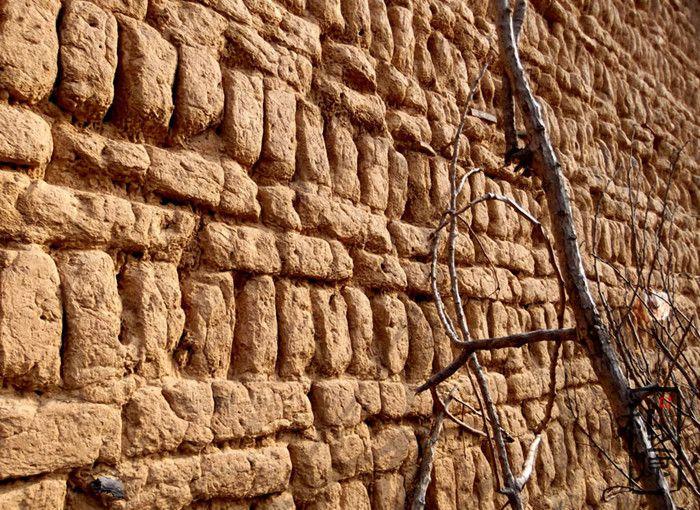 土坯墙表皮