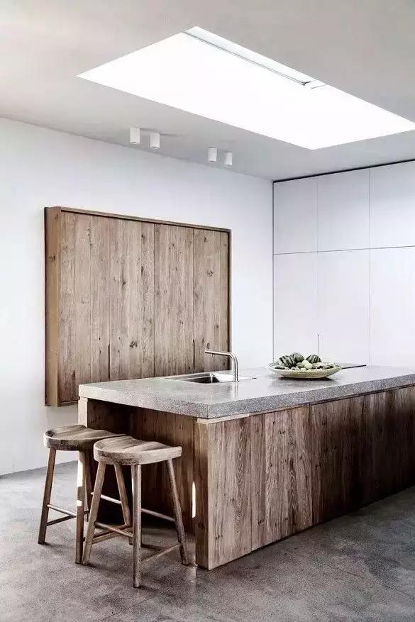 清水混凝土厨房