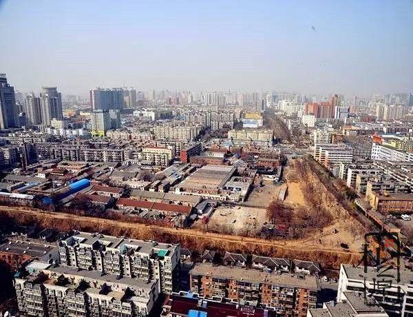 郑州商城夯土遗址