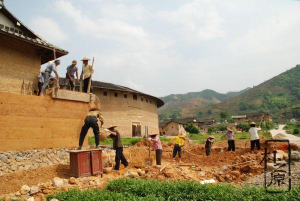 客家土楼建造