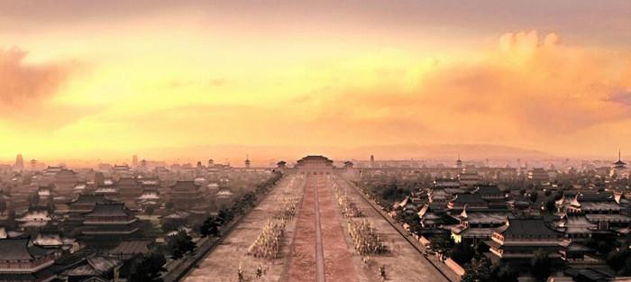 唐朝长安城