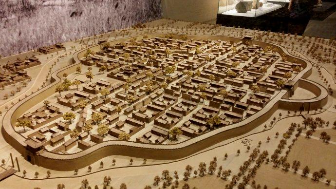 沧州旧城模型
