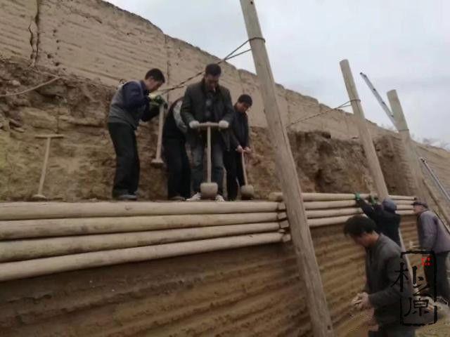 夯土墙研究
