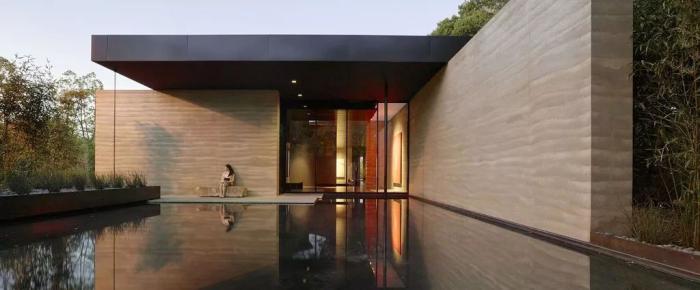 夯土墙建筑文化:现代时尚与东方哲学的交融