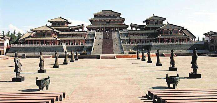 夯土墙宫殿