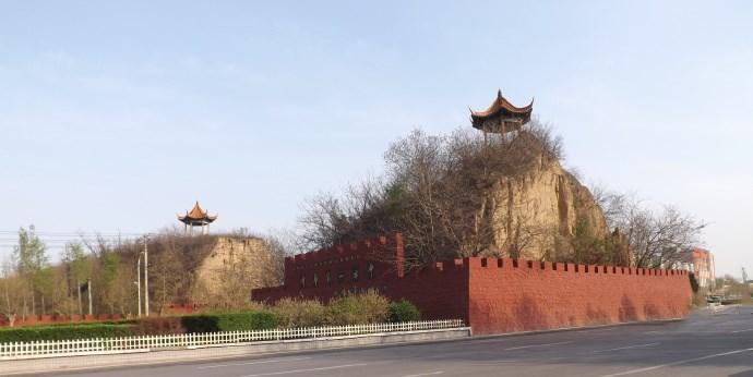 夯土墙古城