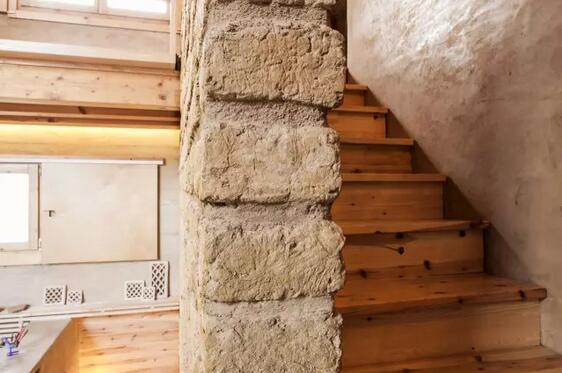 夯土墙立面