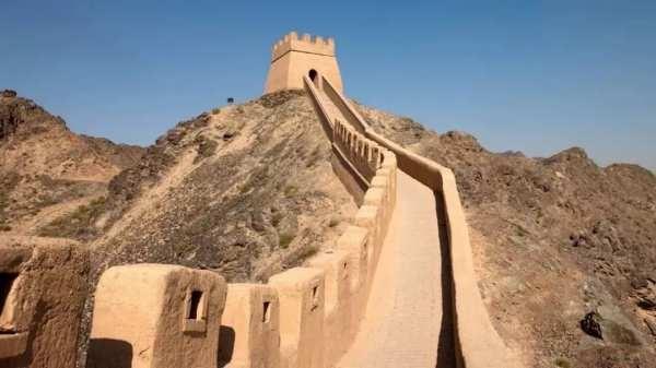 嘉峪关夯土墙