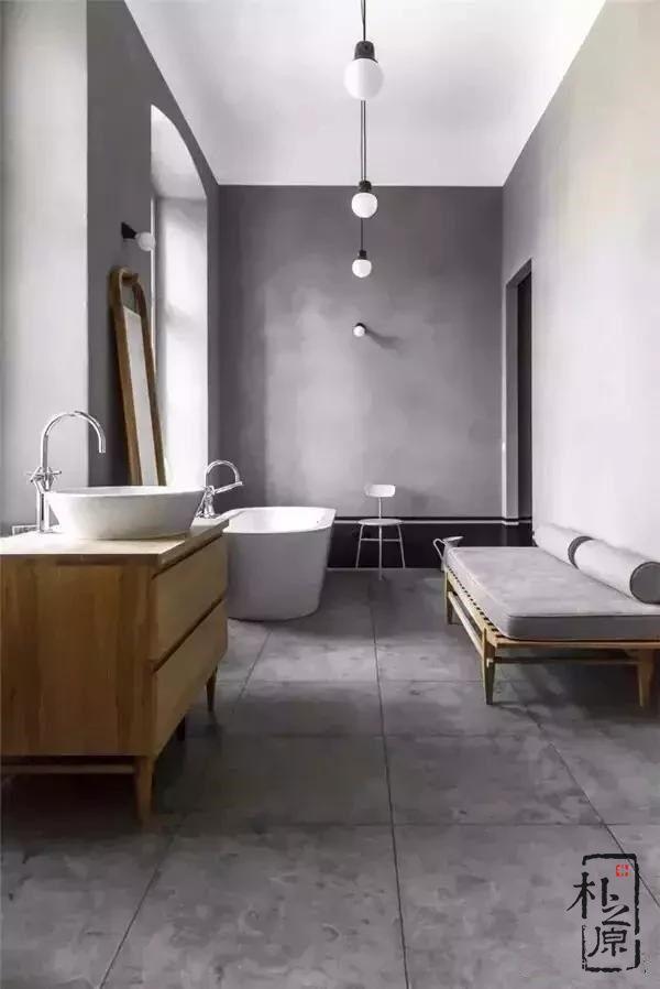 清水混凝土浴室