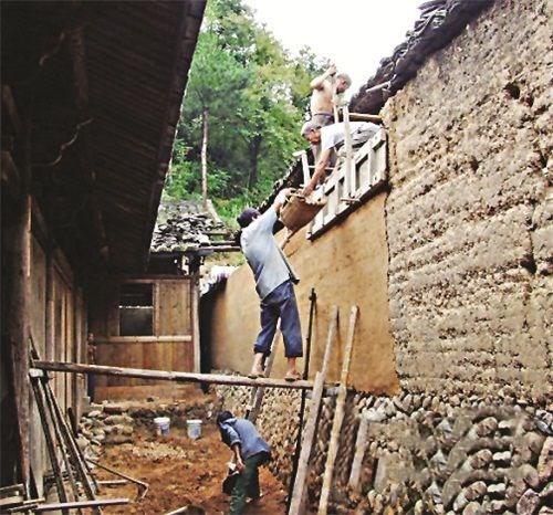 传统夯土墙:远去的土木辉煌,感悟光阴故事(上)