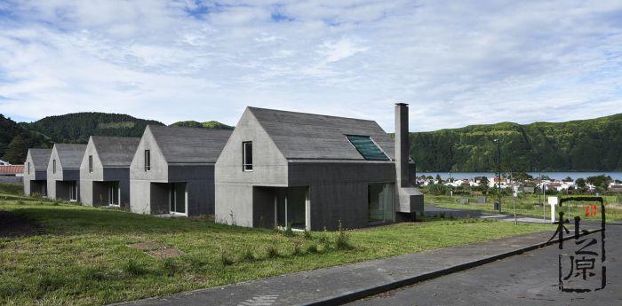 大湖畔清水混凝土别墅,大师设计