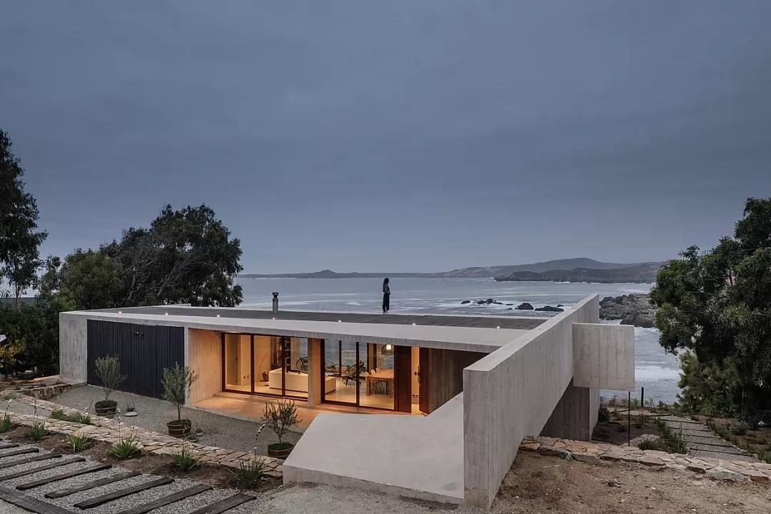 清水混凝土别墅:粗犷与细腻融合