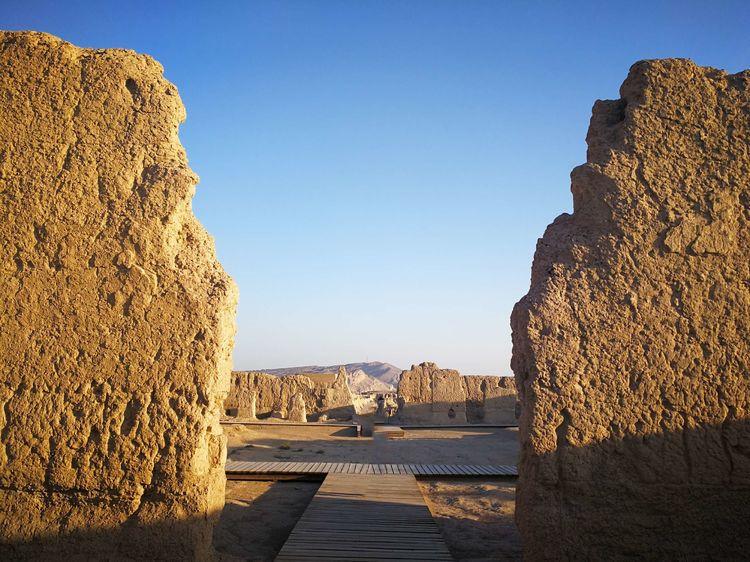 发源西北的中国夯土城墙(1)