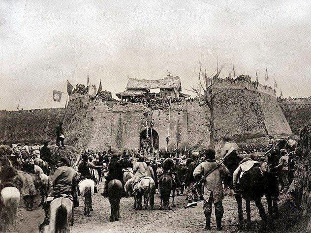 夯土墙历史
