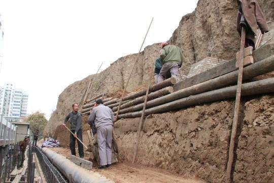 夯土墙维修