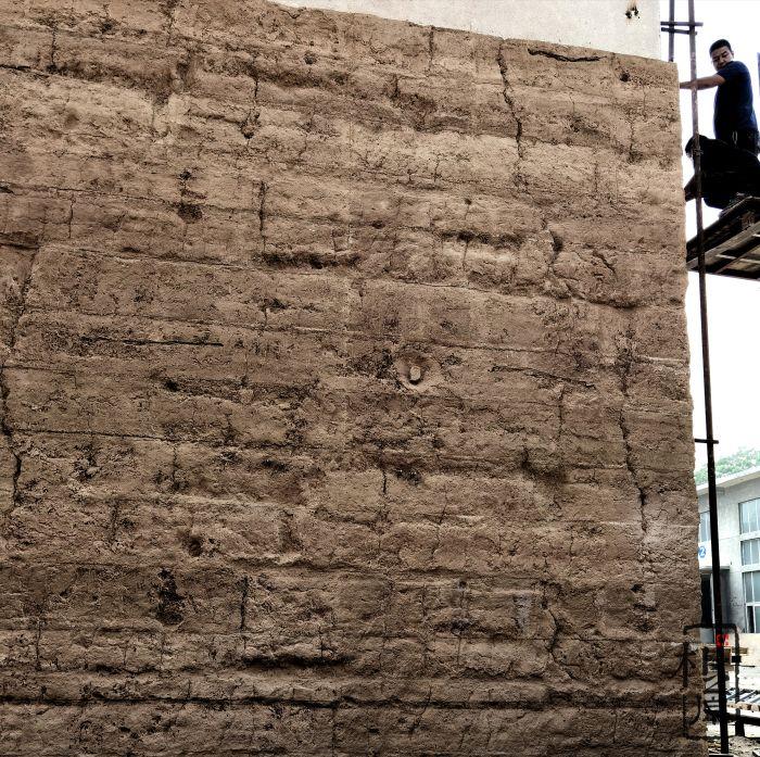 朴之原夯土墙工程