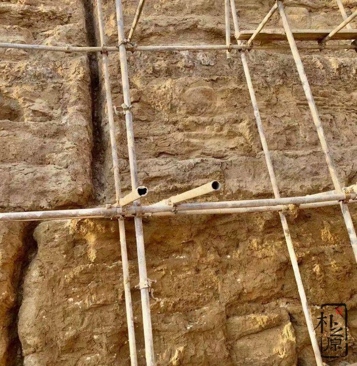 夯土墙遗址
