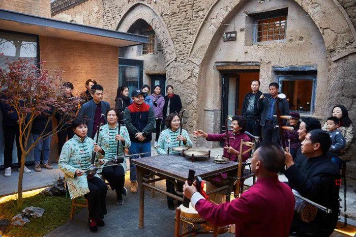 朴之原夯土墙案例 | 岔里·窑遥小院,为乡村振兴修复民居民宿