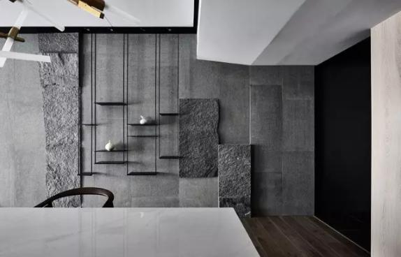 流行美学:清水混凝土挂板装饰