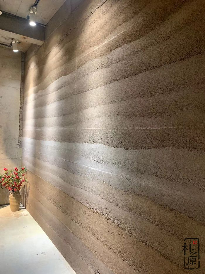 新型夯土墙