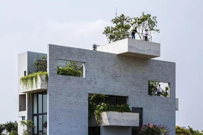清水混凝土挂板 | 公建工装私宅家装好选择