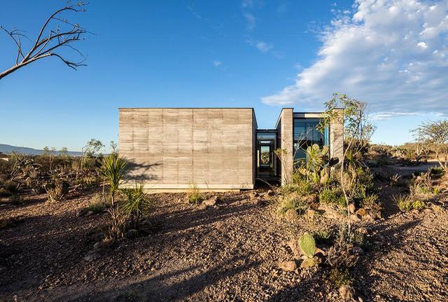 用生态夯土墙打造现代建筑