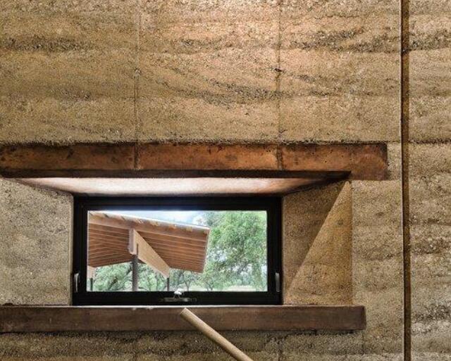夯土墙:别墅建造与旧屋改造两例